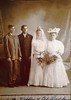 Wedding photo of Carl and Elizabeth Schulmeister Porubsky