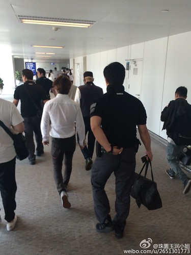 BIGBANG GDTOPDAE arrival Hangzhou 2015-08-25 154