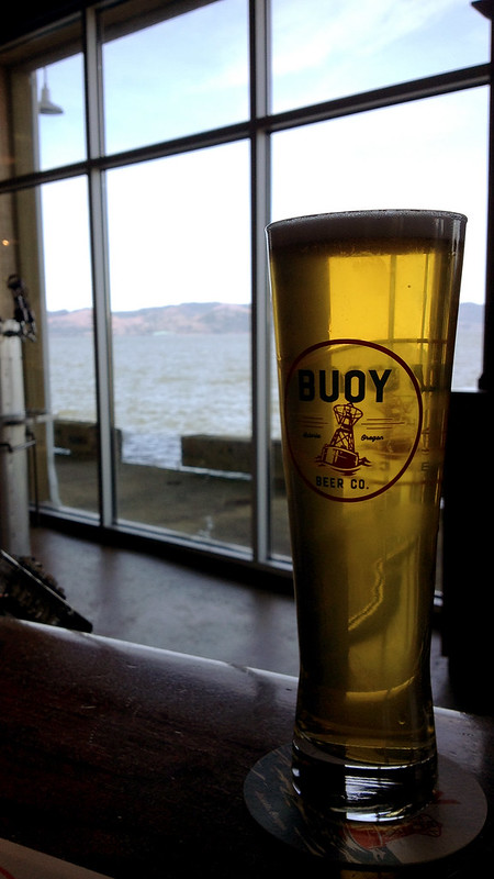 Buoy Brewery, Astoria, Oregon, April 2015
