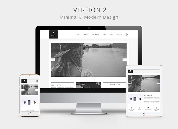 Thor - Creative portfolio HTML5 Website Template - 7
