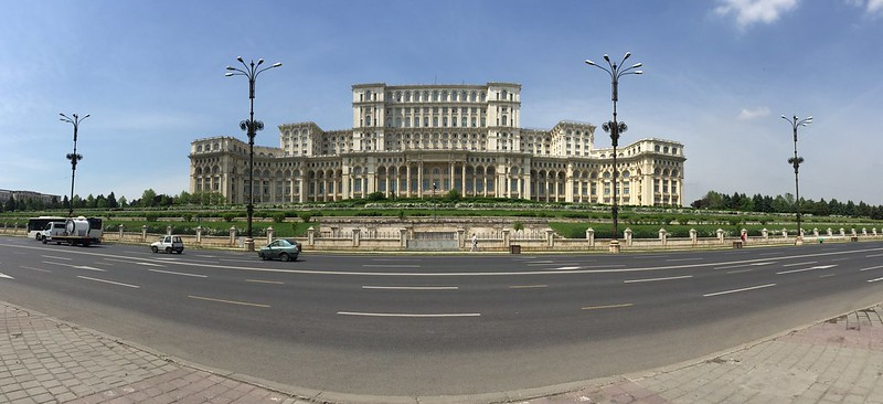 Palace of the Parliament panoramas, Bucharest