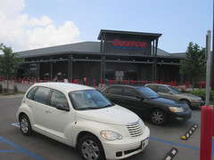 minivan(0.0), automobile(1.0), automotive exterior(1.0), sport utility vehicle(1.0), executive car(1.0), wheel(1.0), vehicle(1.0), chrysler pt cruiser(1.0), mid-size car(1.0), compact car(1.0), chrysler(1.0), land vehicle(1.0),