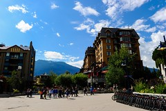 Summer in Whistler Village
