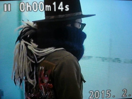 Big Bang - Gimpo Airport - 27feb2015 - G-Dragon - Captain G - 05