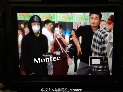Big Bang - Beijing Airport - 07jun2015 - 权夫人与崔司机_Montee - 01