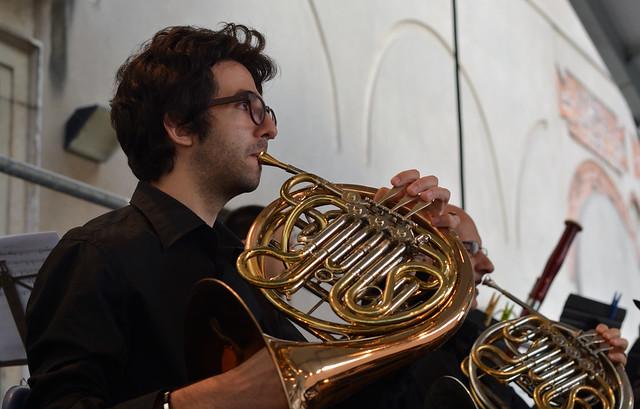 a Hornist