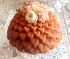 wedding bundt - chrysanthemum pan