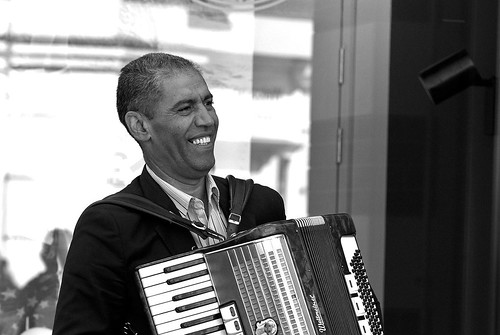 Another accordion man