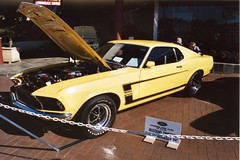 automobile, automotive exterior, boss 302 mustang, wheel, vehicle, automotive design, first generation ford mustang, ford, classic car, land vehicle, muscle car, sports car,