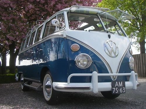 AM-75-63 Volkswagen Transporter Samba 21raams 1964