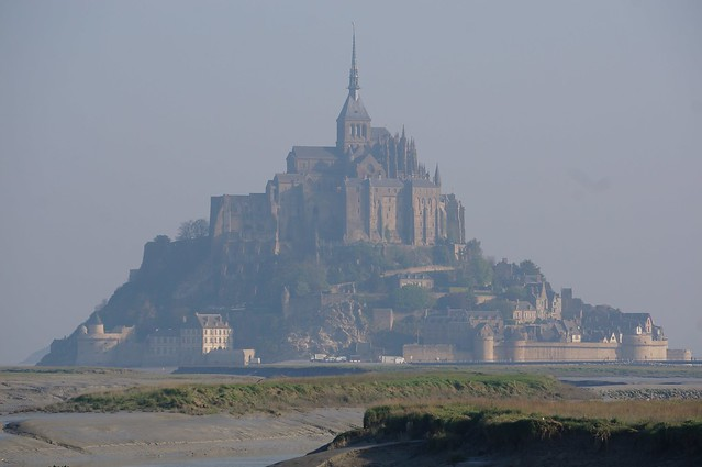 Mont St Michel in the morning light