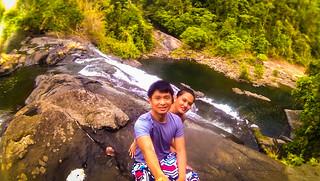 Nikko and Janna Maapon Falls