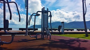 Now that's a workout with a view!