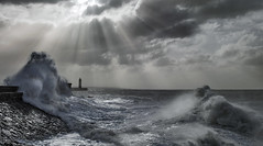 Stormy Weather at Porthcawl