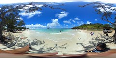 From the sands of Kailua Beach -a 360° Equirectangular VR
