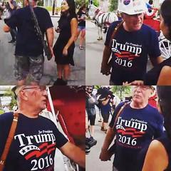 #Trump Anhänger rüsten sich für den Wahlkampf - würg