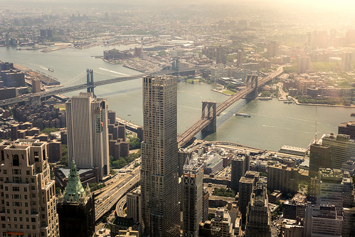 Manhattan from above  from Toni Hoffmann