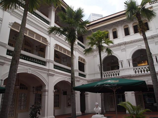 P4189278 RAFFFLES HOTEL(ラッフルズ・ホテル) シンガポール