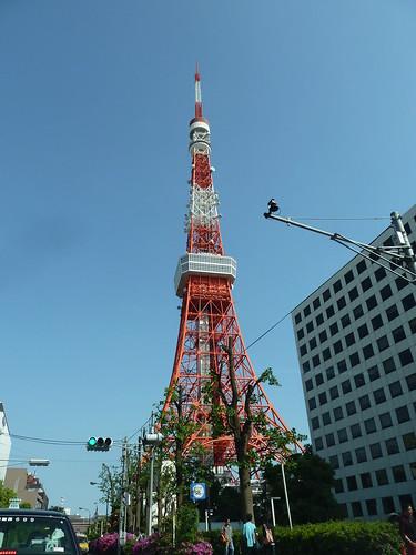 メルセデス・ベンツ GLA-Classから望む東京タワー