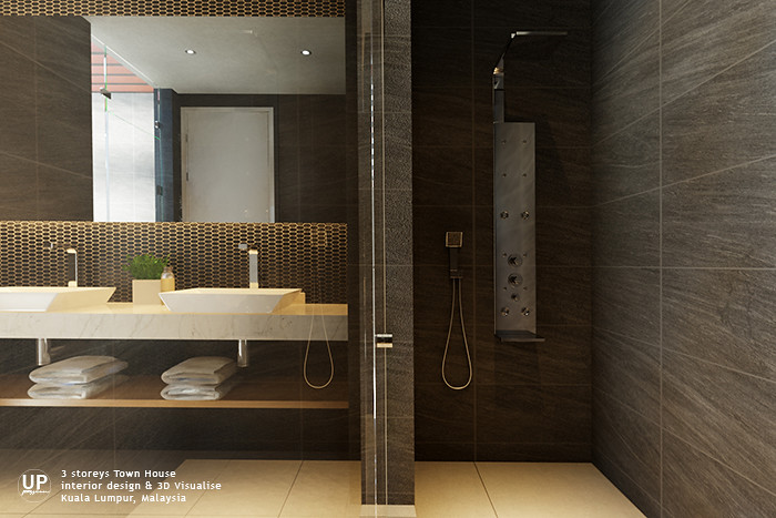 Up creations interior design architectural interior for Bathroom ideas malaysia
