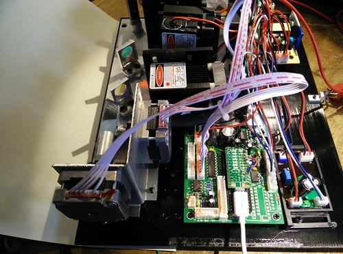 RGB laser projector with Teensy 3