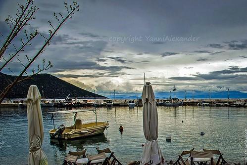 travel sunset summer vacation holiday nature water landscape photo holidays europe greece peloponnese