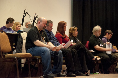 The cast from Chattacon 2010.