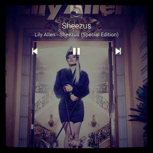 Give me that crown 👑 bitch, I wanna be Sheezus... @lilyallen