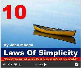 maeda simplicity slides