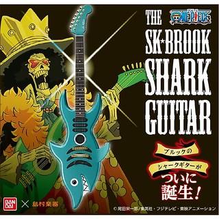 《海賊王》靈魂之王布魯克的「鯊魚電吉他」1:1比例 限定推出!