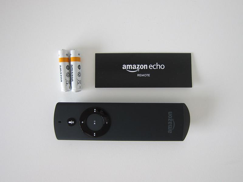 Amazon Echo Voice Remote - Box Contents