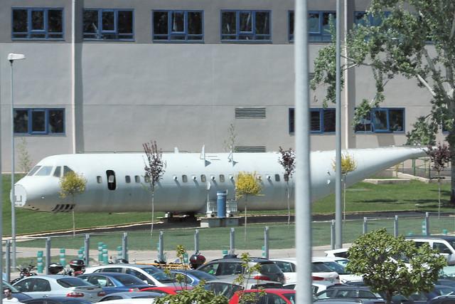 C295 Test fuselage