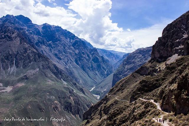 Trilha no Colca Canyon - Peru