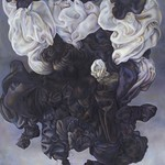 Irene Delka McCray; Levitated; Oil on canvas; 59x42; 2012; Courtesy of Private Collection -