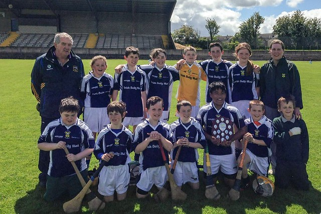 The victorious Burgess NS team and management