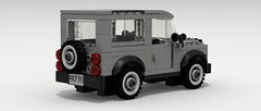 Land Rover Defender (IRL) (rear view)