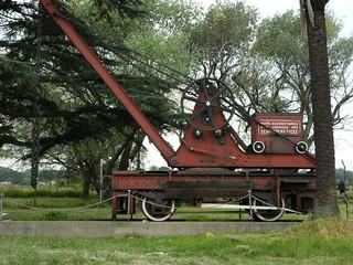 Transnet Heritage SAR Manually operated crane