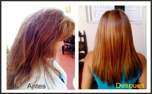 cabello liso tratamiento