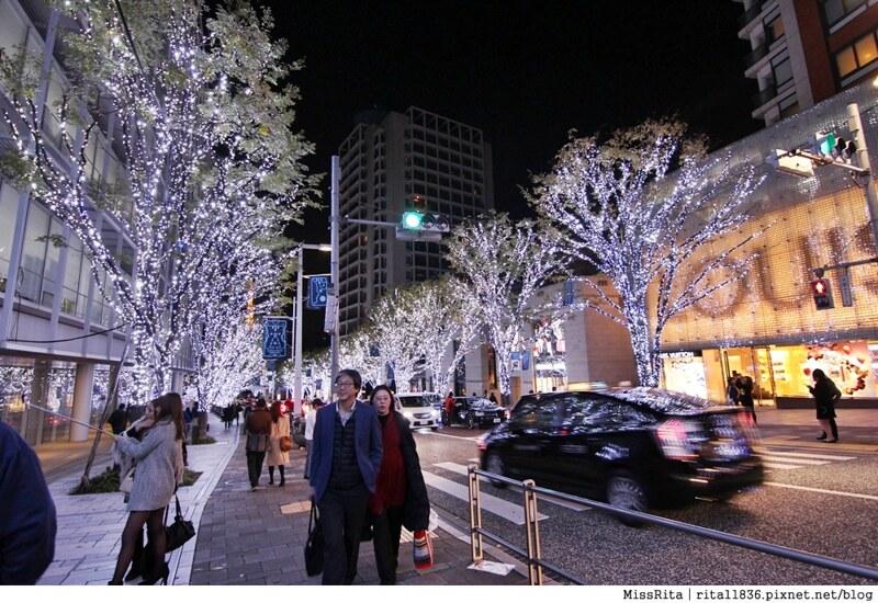 日本東京 東京夜景 六本木之丘 六本木Hills 六本木夜景 Tokyo city view 六本木大道 東京聖誕點燈 2014東京點燈20