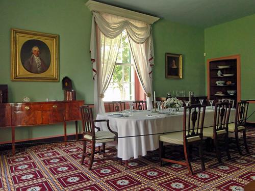 ohio history diningroom dining nationalhistoriclandmark maiac thomasworthington benjaminlatrobe adenamansion sonydschx1
