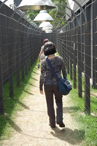 Entrada al campo de concentración de Praga