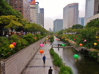Cheonggyecheon - The River Walk