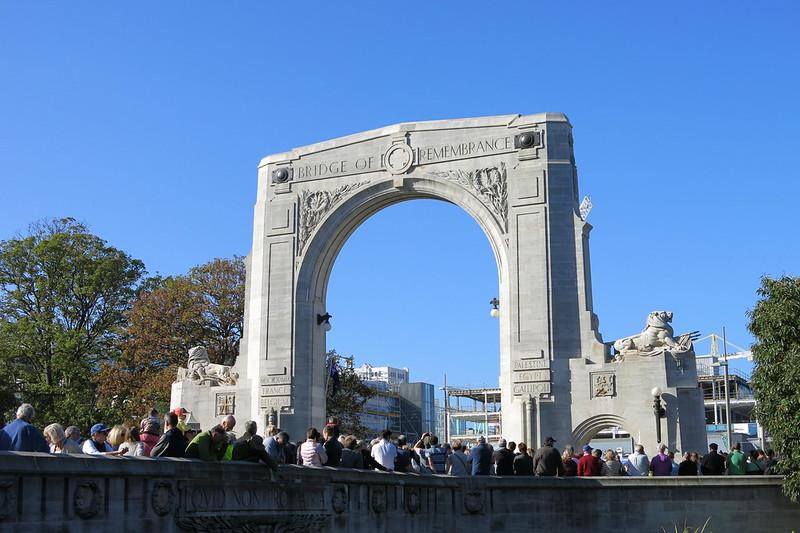 Bridge of Remembrance rededication