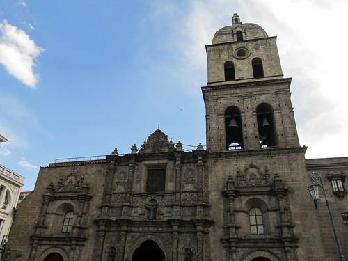 La Paz: la Iglesia San Francisco, juste à côté de notre hôtel