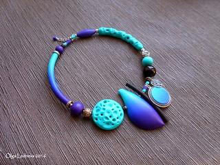 CERNIT: № 265 (royal blue), №676 (turquoise), №900 (purple), №100 (black).
