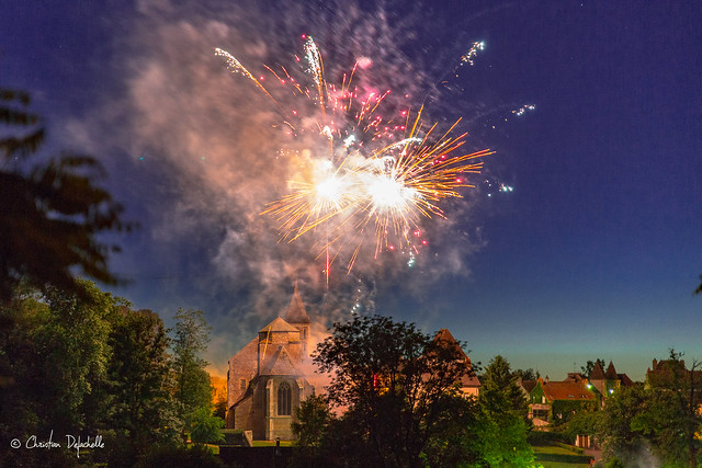 Feux d'artifice Perrecy les Forges