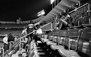 Dodger Stadium, After the Game