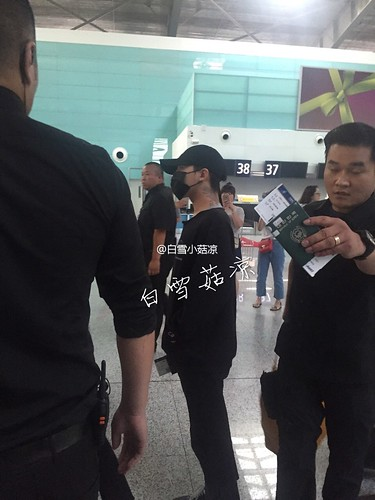 Big Bang - Dalian Airport - 26jun2016 - seungri1314 - 01