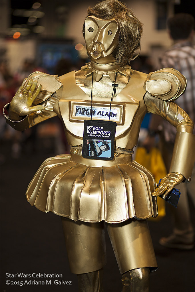 Dot Matrix Spaceballs At Swca 2015 Really Funny Costume At Flickr