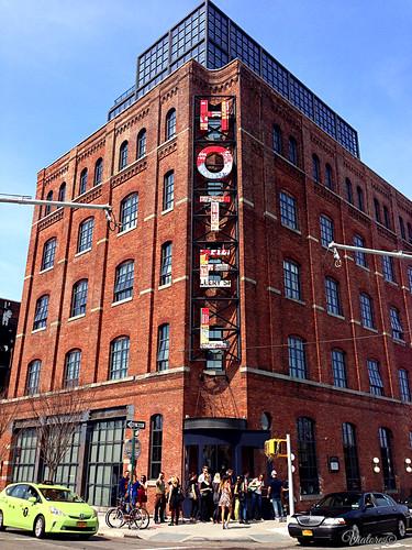 Hotel in Brooklyn. New York. USA